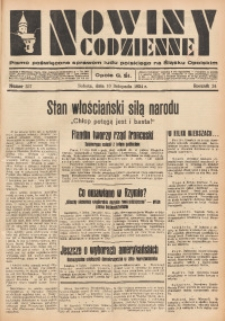 Nowiny Codzienne, 1934, R. 24, nr 257
