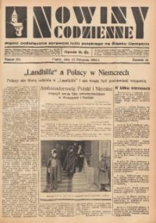 Nowiny Codzienne, 1934, R. 24, nr 262