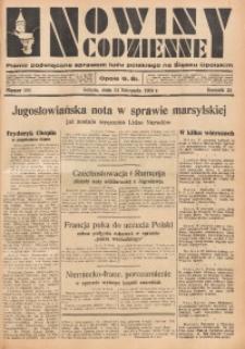 Nowiny Codzienne, 1934, R. 24, nr 268