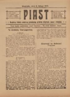 Piast, 4 lutego 1917