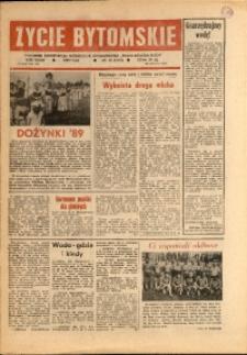 Życie Bytomskie, 1989, R. 33, nr 40 (1692)