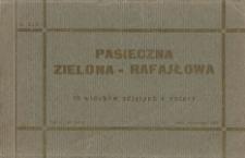 Pasieczna Zielona-Rafajłowa. Album pocztówek (okładka)