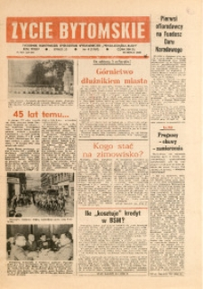 Życie Bytomskie, 1990, R. 34, nr 4 (1707)