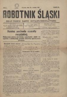 Robotnik Śląski, 1916, Nr 51