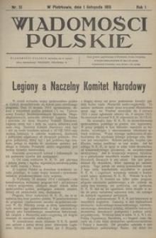 Wiadomości Polskie, 1915, R. 1, nr 51