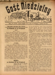Gość Niedzielny, 10 października 1926