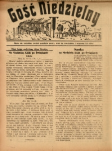 Gość Niedzielny, 31 października 1926