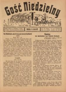 Gość Niedzielny, 9 stycznia 1927