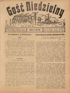 Gość Niedzielny, 6 maja 1928