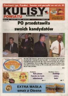 Kulisy Powiatu Kluczbork - Olesno 2006, nr 39.