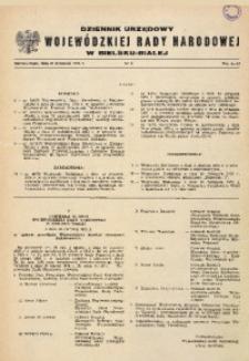 Dziennik Urzędowy Wojewódzkiej Rady Narodowej w Bielsku - Białej, 1975, Nr 2