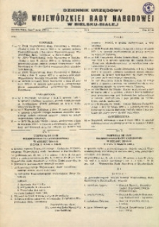 Dziennik Urzędowy Wojewódzkiej Rady Narodowej w Bielsku - Białej, 1980, Nr 3