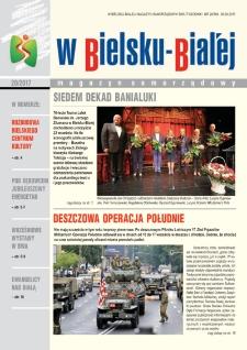 W Bielsku-Białej, 2017, nr20 (384)