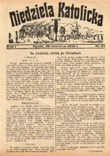 Niedziela Katolicka, 1932, R. 1, nr 25