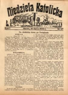 Niedziela Katolicka, 1932, R. 1, nr 27