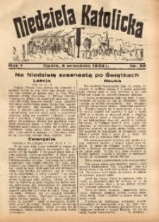Niedziela Katolicka, 1932, R. 1, nr 35