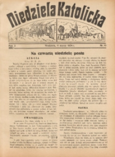 Niedziela Katolicka, 1934, R. 3, nr 10