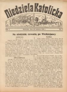 Niedziela Katolicka, 1934, R. 3, nr 17