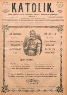 Katolik, 1877, R. 10, nr 22