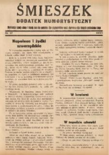 Śmieszek, 1933, nr 17. - Wyd. równoległe