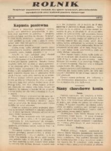 Rolnik, 1934, [R. 32], nr 6