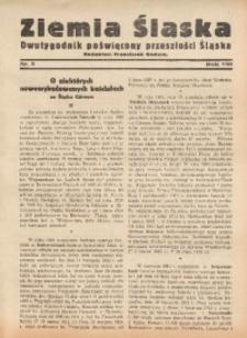 Ziemia Śląska, 1934, R. 8, nr 5