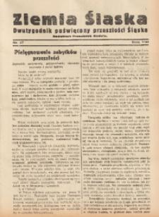 Ziemia Śląska, 1934, R. 8, nr 17