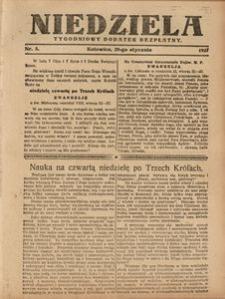 Niedziela, 1927, Nr. 5