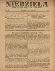 Niedziela, 1927, Nr. 10
