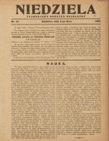 Niedziela, 1927, Nr. 27