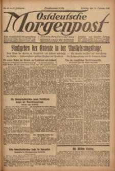 Ostdeutsche Morgenpost, 1920, Jg. 47, Nr. 46