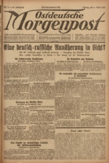 Ostdeutsche Morgenpost, 1920, Jg. 47, Nr. 65