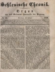 Schlesische Chronik, 1840, Jg. 5, No. 14