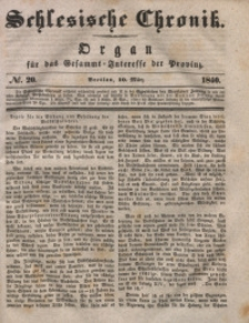 Schlesische Chronik, 1840, Jg. 5, No. 20