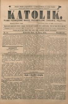 Katolik, 1882, R. 15, nr 24