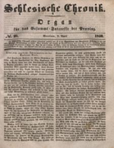 Schlesische Chronik, 1840, Jg. 5, No. 28