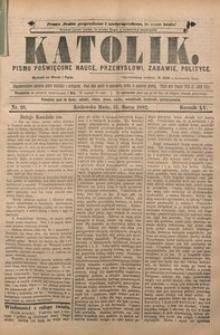 Katolik, 1882, R. 15, nr 26
