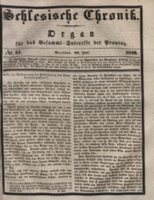 Schlesische Chronik, 1840, Jg. 5, No. 51