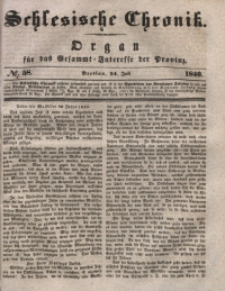 Schlesische Chronik, 1840, Jg. 5, No. 58