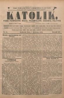 Katolik, 1882, R. 15, nr 28