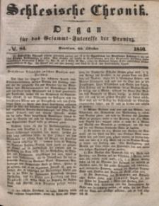 Schlesische Chronik, 1840, Jg. 5, No. 84