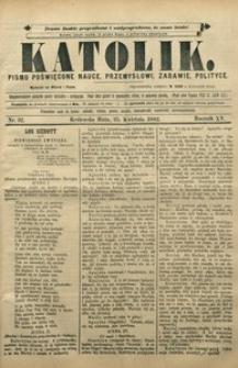 Katolik, 1882, R. 15, nr 32