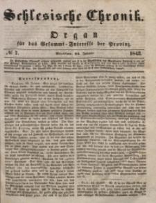 Schlesische Chronik, 1843, Jg. 8, No. 7