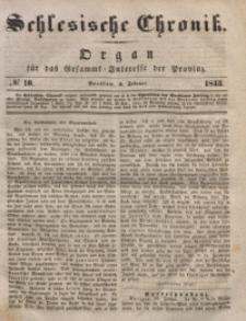 Schlesische Chronik, 1843, Jg. 8, No. 10