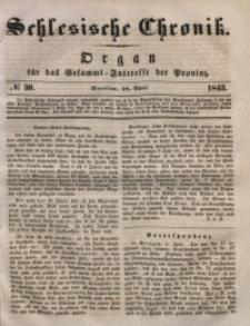 Schlesische Chronik, 1843, Jg. 8, No. 30