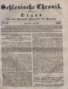 Schlesische Chronik, 1843, Jg. 8, No. 37