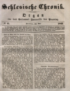 Schlesische Chronik, 1843, Jg. 8, No. 41