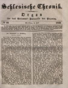 Schlesische Chronik, 1843, Jg. 8, No. 53