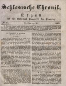 Schlesische Chronik, 1843, Jg. 8, No. 57