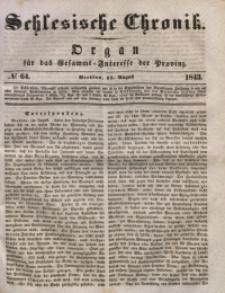 Schlesische Chronik, 1843, Jg. 8, No. 64